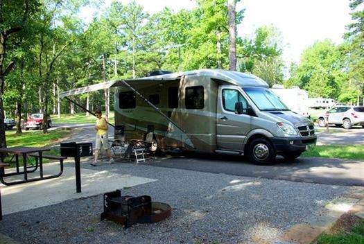Campground Petit Jean State Park Arkansas
