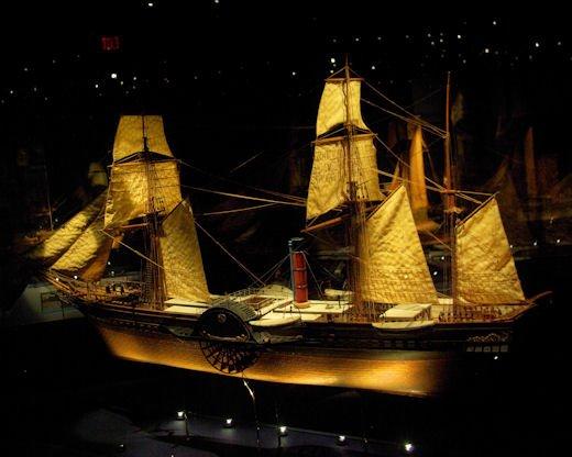 Le Britannia : premier paquebot de la Cunard Rmsbritannia1840