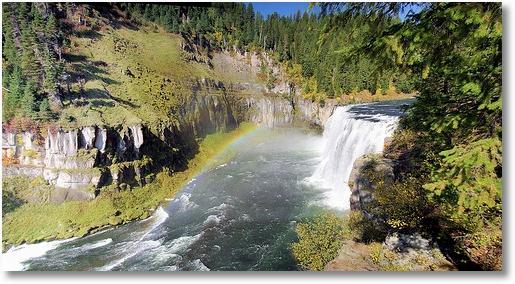 Upper Mesa Falls, Henrys Fork of the Snake River, Idaho