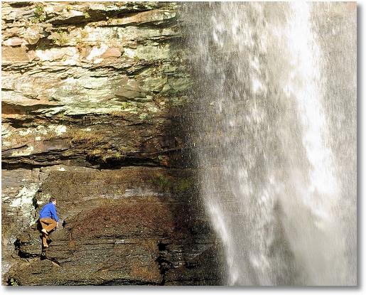 Cedar Falls, Petit Jean State Park, Arkansas, January 6, 2007