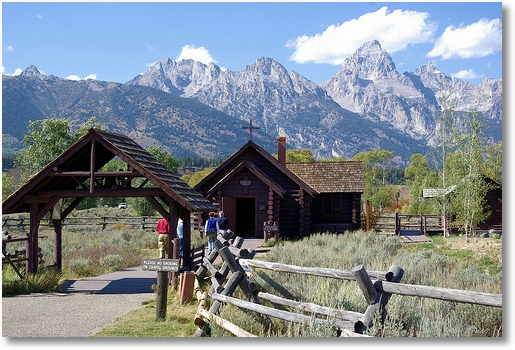Chapel of the Transfiguration, Grand Teton National Park, Wyoming, September 20, 2007