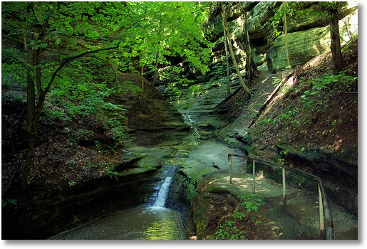 French Canyon Starved Rock State Park
