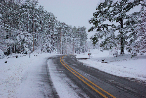 March Snow, Arkansas, 2008
