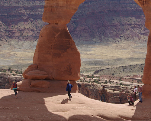 Delicate Arch, Arches National Park, Utah, September 24, 2007