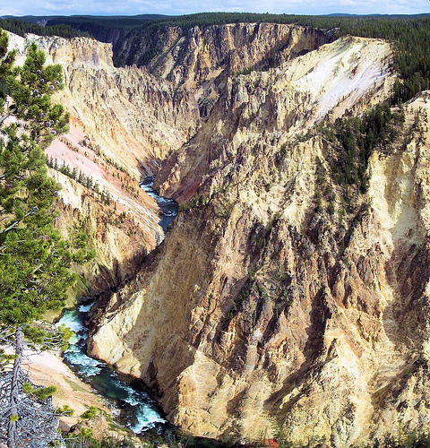 Grand Canyon of the Yellowstone, Yellowstone National Park, Wyoming, September 17, 2007