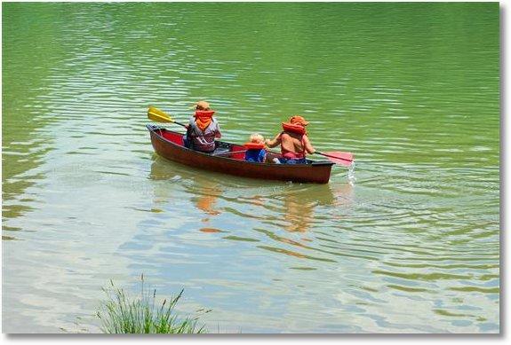 devils den state park arkansas paddling canoe
