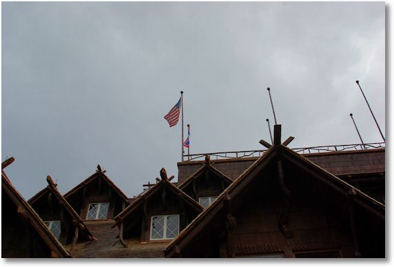 roof of old faithful inn