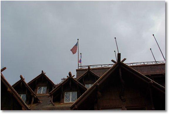 roof of old faithful inn