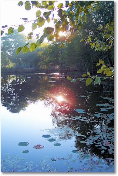 Lake Bailey, Petit Jean State Park, Arkansas 10-3-06