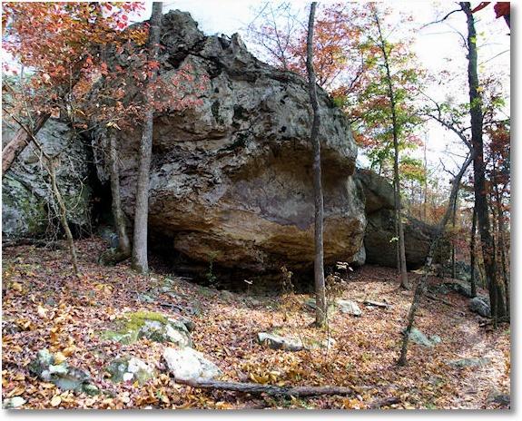 Seven Hollows Trail, Petit Jean State Park, Arkansas, November 2007