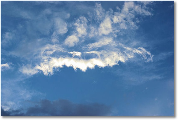 Yellowstone Sky, Old Faithful area, Yellowstone National Park, Wyoming 9-14-07