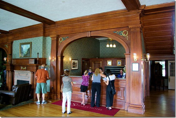Stanley Hotel Lobby, September 5, 2009, Estes Park, Colorado