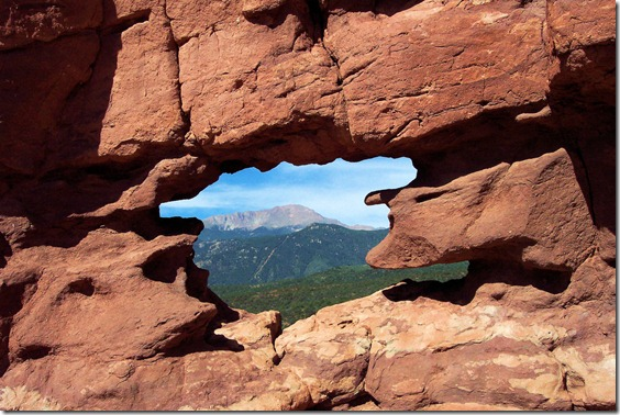 Garden of the Gods, Colorado Springs, Colorado, August 2004