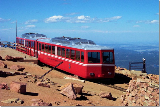 Pikes Peak, Colorado, August 25, 2004 - a