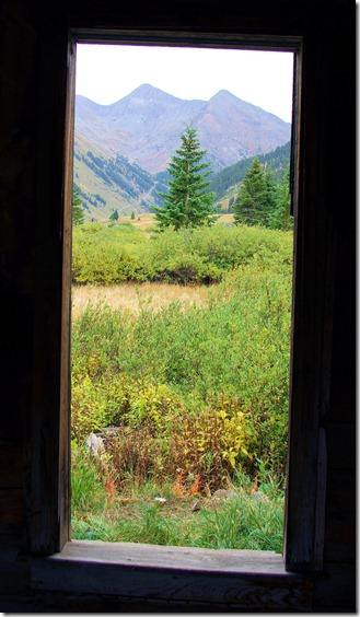 Animas Forks Window View