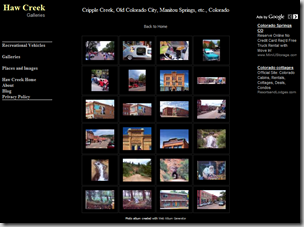 Cripple Creek, Old Coloroado City, Manitou Springs, etc., Colorado