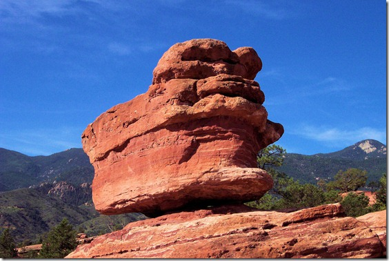 Garden of the Gods, Colorado Springs, Colorado, August 2004-2