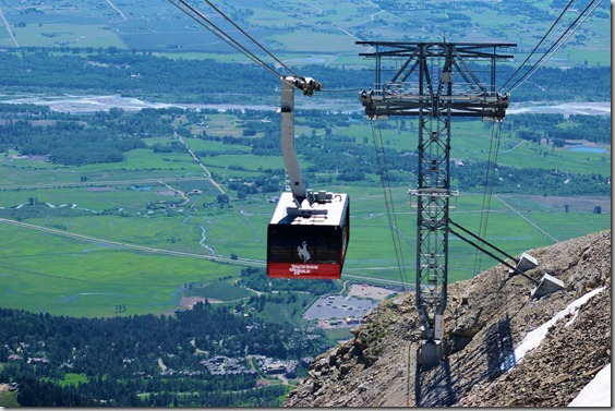 Jackson Hole Aerial Tram at Teton Village, Wyoming