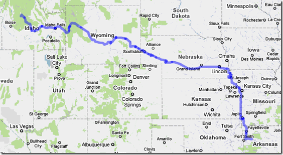 travel route