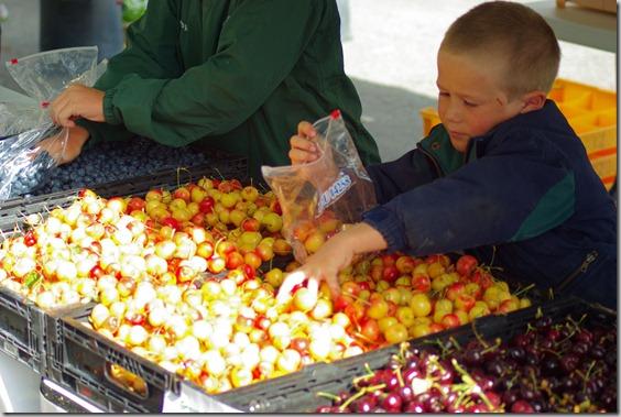 Farmers' Market, Jackson, Wyoming, July 17, 2010