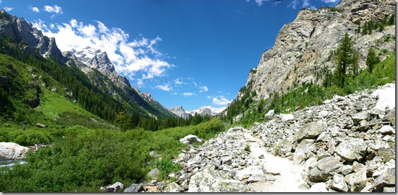 Cascade Canyon, Grand Teton National park