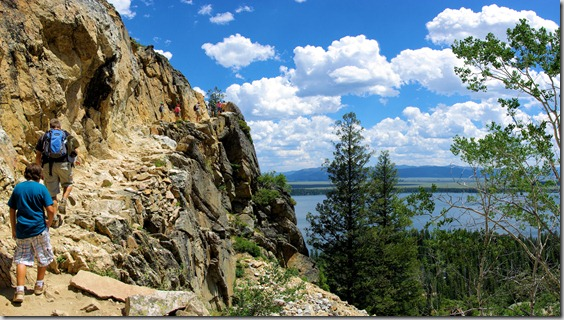 trail to inspiration point, Grand Teton National Park