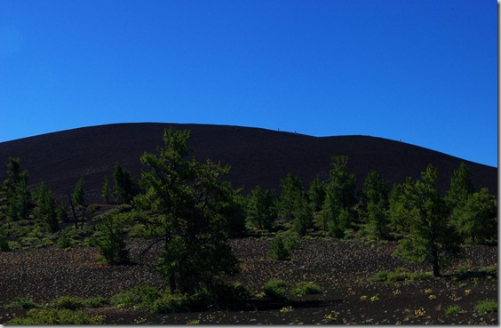 Inferno Cone, a cinder cone at Craters of the Moon National Monument, Idah