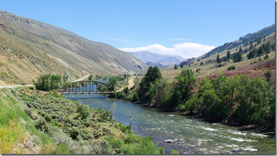 Along the Salmon River, Idaho