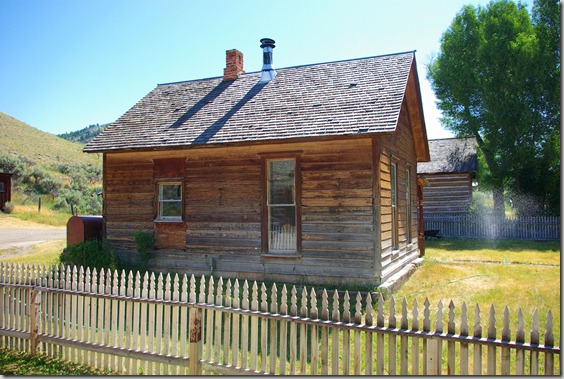The Bannack State Park visitor center building