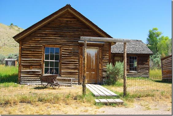 Turner House, Bannack State Park, Montana
