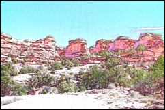 Post image for A Hike in the Needles District