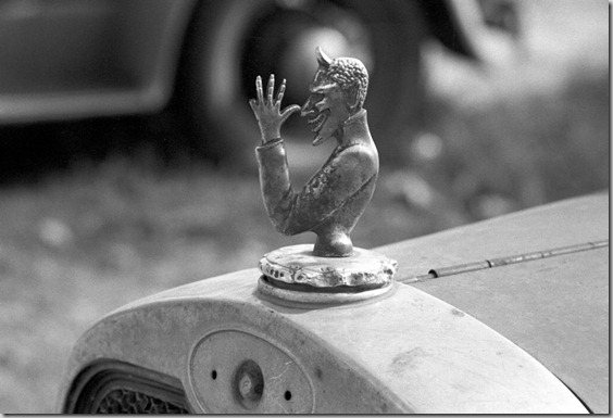 a devilish radiator cap