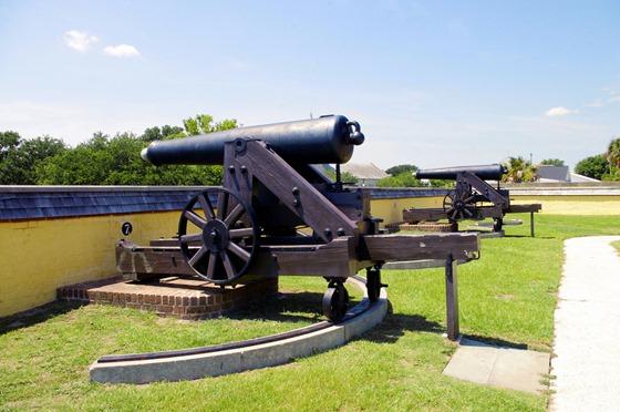 Fort Moultrie, Sullivan's Island, South Carolina, June 14, 2012 - 3